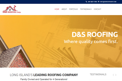 Roofer: DS Roofing