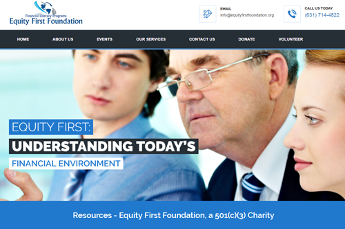 Non Profit: Equity First Foundation