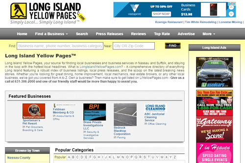 Local Yellow Pages Directory